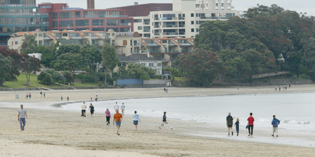Auckland Council wants to enhance the Takapuna beachfront and says options are still being discussed.