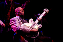 BB King's eventful 87 years have been documented in The Life of Riley. Photo / Dean Purcell