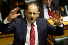 David Shearer has scored an own goal over the alleged GCSB video mentioning Kim Dotcom. Photo / Mark Mitchell 