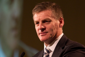 Finance Minister Bill English says Government expenditure was under control and needed to stay that way with revenue being more uncertain. Photo / Greg Bowker