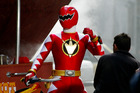Filming of the Power Rangers series has returned to Auckland after two years. Photo / Glenn Jeffrey