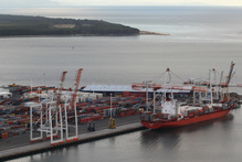 A man's foot was severed after it got caught in a winch at the Port of Tauranga today. File photo / Bay of Plenty Times