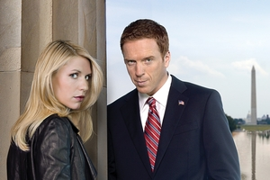 Post 9/11 metaphor: The two aggravating stars of Homeland, Claire Danes (Carrie Mathison) and Damian Lewis (Nicholas Brody). Photo / Supplied