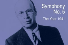 CD cover: Prokofiev Symphony No 5. Photo / Supplied