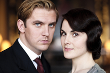 Making it down the aisle is not as straightforward as it should be for Matthew Crawley (Dan Stevens) and Lady Mary (Michelle Dockery) in the new season of 'Downton Abbey.' Photo / Supplied