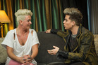 Sarin Moddle (left) and Adam Lambert. Photo / Ted Baghurst