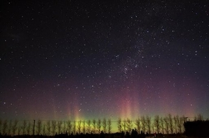 Andrew Dallow captured this photo of the Southern Lights (Aurora Australis) in July from Darfield, Canterbury. Photo / File