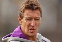 There is growing speculation that Melbourne Storm coach Craig Bellamy will cross the Tasman in 2014 in a multi-million deal with the New Zealand Warriors. Photo / Getty Images.