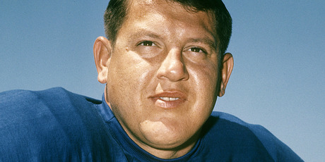 Alex Karras has died at the age of 77. Photo / AP