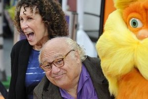 "Danny De Vito and wife actress Rhea Perlman at the premiere of Dr.Seuss' ""The Lorax"" at Universal Studios Hollywood in February. The pair are separating. Photo / AFP"