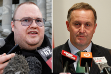 Labour is claiming a recording exists of Prime Minister John Key mentioning Dotcom earlier than he has said he knew of the case. Photo / File