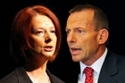 Julia Gillard has used a call by Tony Abbott for the Government to remove Peter Slipper as Speaker to attack the Opposition Leader for hypocrisy, labelling him a misogynist.