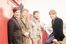Mumford & Sons' new release will please their fans but may not win many new ones. Photo / Supplied