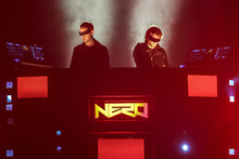Nero perform at Rhythm & Vines Soundcheck at Vector Arena in Auckland. Photo / Connor Crawford