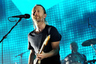 Thom Yorke of Radiohead performs live on stage in London. Photo / Getty Images