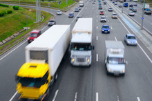 Slow vehicles at the front of queues on the highway are often trucks.Photo / Thinkstock