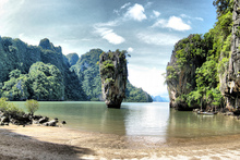 James Bond Island, off the west coast of Thailand. Photo / Creative Commons image by Flickr user Jo@net