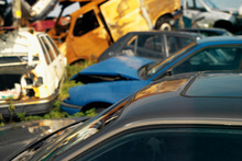 A car is stolen on average every four days in Wairarapa and often sold on as scrap metal. Photo / Thinkstock