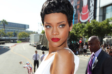 Rihanna will help launch the Christmas lights in London this year.  Photo / AP