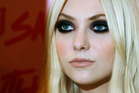 Taylor Momsen appears nude in a new video for Under the Water. Photo / AP