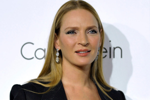 Uma Thurman has revealed her daughter's name - several months after she was born. Photo / AP