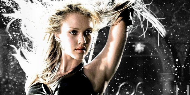Jessica Alba as Nancy in Frank Miller's Sin City. Photo / Supplied