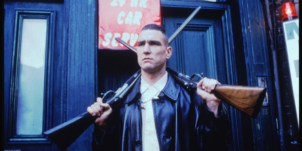 Vinnie Jones in the movie Lock, Stock and Two Smoking Barrels. Photo / Supplied