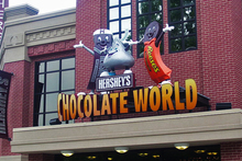 Make your own chocolate bars at Chocolate World.