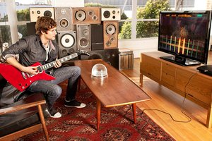 'Rocksmith' invites pros to the party, but treats them like beginners. Photo / Supplied