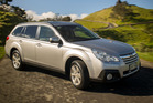 The 2013 Legacy sits slightly higher than the previous model. Photo / Ted Baghurst