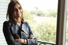Carine Roitfeld at home in Paris. Photo / Supplied