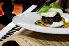 Toto's mozzarella entree with grilled vegetables. Photo / Babiche Martens