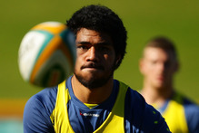 Sitaleki Timani has taken the long road to a Wallabies jumper. Photo / Getty Images