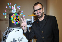 Ringo Starr. Photo / AP