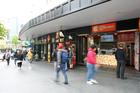 Eighteen new, smaller shops have been opened at 350 Queen St. Photo / Chris Gorman