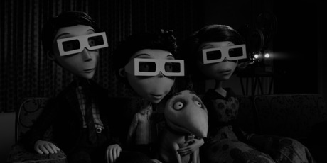 A scene from Frankenweenie.  Photo / Supplied