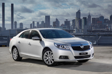 The Holden Malibu will be one of the first cars to be equipped with MyLink, a smartphone integration system. Photo / Supplied