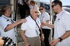 Veteran Bill Bristow arrives at El Alamein airport. Photo / Michael Dickison