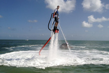 Flyboard fulfils Iron Man fantasies