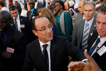 French President Francois Hollande vowed to step up security measures for the Jewish community in France. Photo / AP