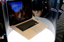 MacBook Pro. Photo / AP