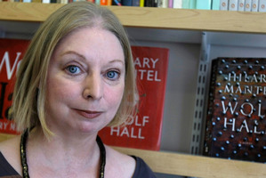 Winner of the 2009 Booker Prize for fiction Hilary Mantel is hoping to bag the prize again.Photo / AP