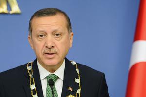 Turkey's Prime Minister Recep Tayyip Erdogan. Photo / AP