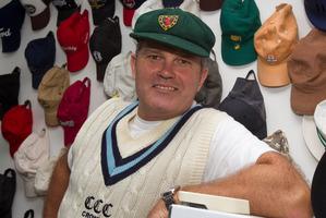 Martin Crowe, former New Zealand cricket captain. Photo / Paul Estcourt