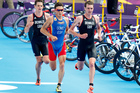 London's Olympic course was tailor-made for the Brownlee brothers. Photo / Mark Mitchell