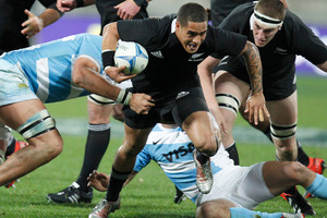 Aaron Smith has been a revelation at halfback. Photo / NZ Herald