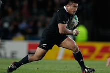 Keven Mealamu will rack up 100 All Black caps thanks to sharing the role with Andrew Hore. Photo / Brett Phibbs 