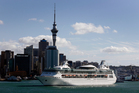 Cruise ships, water sports and dredging are some of the many activities on the Hauraki Gulf. Photo / Dean Purcell