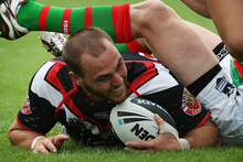 Simon Mannering rejects reports of a player revolt. Photo / Greg Bowker