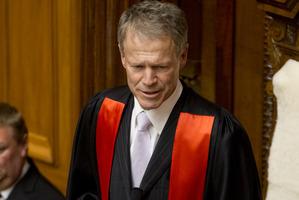 The Speaker, Lockwood Smith. Photo / Mark Mitchell